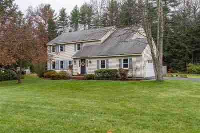 Merrimack Single Family Home Active Under Contract: 12 Ministerial Drive