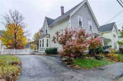Manchester Single Family Home Active Under Contract: 151 Sagamore Street