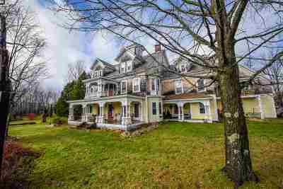 Whiting Single Family Home For Sale: 6492 Vt Rte 100 South