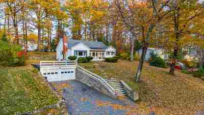 Laconia Single Family Home Active Under Contract: 163 Shore Drive