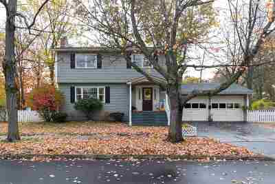 Chittenden County Single Family Home Active Under Contract: 116 Pleasant Avenue