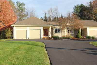 Chittenden County Condo/Townhouse For Sale: 304 Whitewater Circle