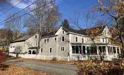 Nashua Single Family Home For Sale: 39 Stark Street