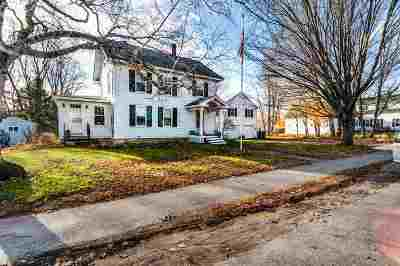 Pembroke Single Family Home Active Under Contract: 148 Pembroke Street