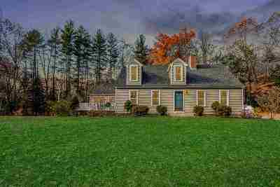 Merrimack Single Family Home Active Under Contract: 63 Wilson Hill Road
