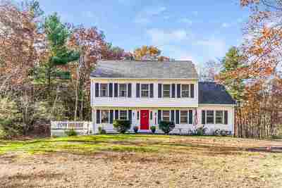 Derry Single Family Home For Sale: 23 Montgomery Farm Road