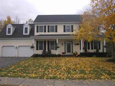 Chittenden County Single Family Home For Sale: 342 Brennan Woods Drive