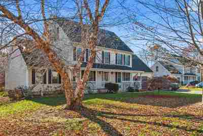 Dover Single Family Home Active Under Contract: 7 Wallace Drive #27-4