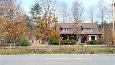 Rumney Single Family Home Active Under Contract: 1125 Quincy Road