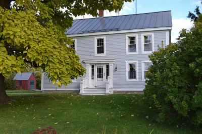 New Haven Single Family Home For Sale: 3206 Ethan Allen Highway