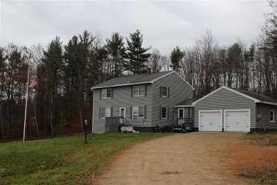 Pittsfield Single Family Home For Sale: 557 Tilton Hill Road