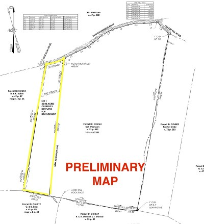 Franklin County Residential Lots & Land For Sale: East Bakersfield Rd Lot #1