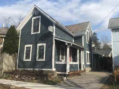 Chittenden County Single Family Home For Sale: 238 Elmwood Avenue