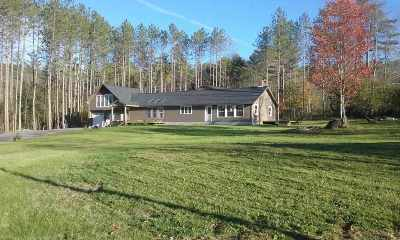 Fairlee Single Family Home For Sale: 103 Quinibeck Road