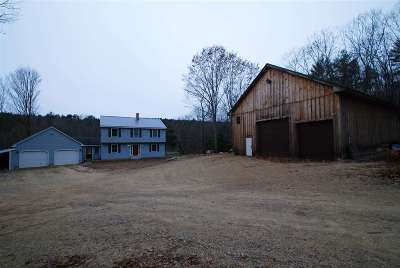 Belknap County Single Family Home For Sale: 139 South Road