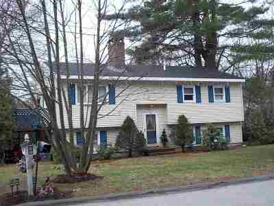 Manchester Single Family Home For Sale: 51 Sunset Pine Drive
