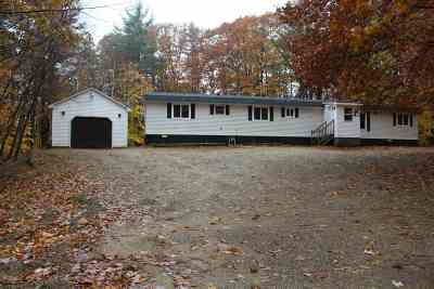 Strafford County Single Family Home For Sale: 136 Bolan Road
