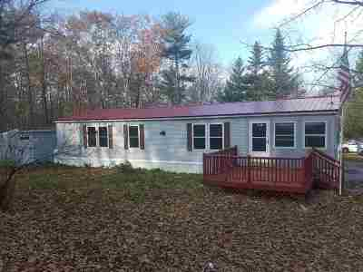 Loudon Mobile/Manufactured For Sale: 80 Pine Ridge Road