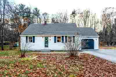 Milford Single Family Home For Sale: 89 Whitten Road