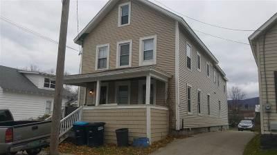 Rutland, Rutland City Multi Family Home For Sale: 100 Granger Street