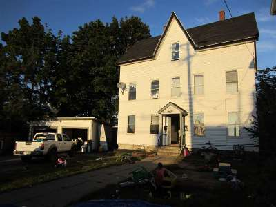 Manchester Multi Family Home For Sale: 389 Belmont Street