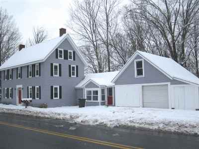 Goffstown Single Family Home For Sale: 62 Center Street