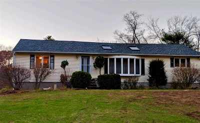 Dover Single Family Home For Sale: 83 County Farm Cross Road