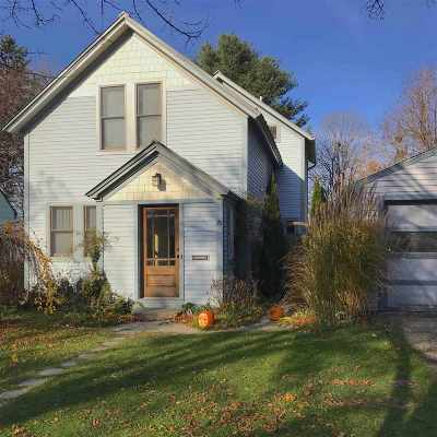 Chittenden County Single Family Home For Sale: 20 Scarff Avenue