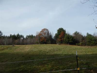 Bradford Residential Lots & Land Active Under Contract: 158 Acres Center Road & Cressey Road