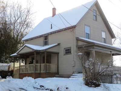 Caledonia County Single Family Home For Sale: 43 Lafayette Street