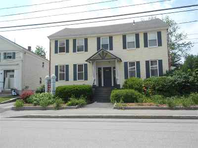 Concord Commercial Lease For Lease: 3 N Spring Street #200