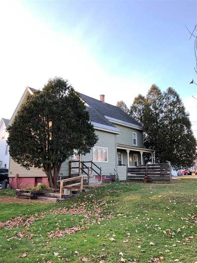 Haverhill NH Single Family Home Active Under Contract: $135,000