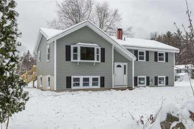 Merrimack Single Family Home Active Under Contract: 180 Baboosic Lake Road