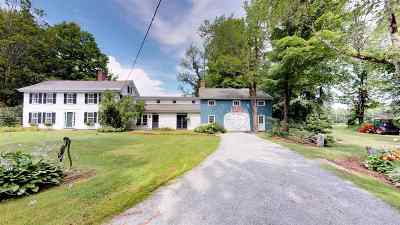 Bradford Single Family Home For Sale: 803 West Road