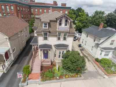 Nashua Single Family Home For Sale: 33 East Pearl Street