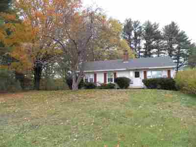 Pembroke Single Family Home Active Under Contract: 731 Route 28 Road