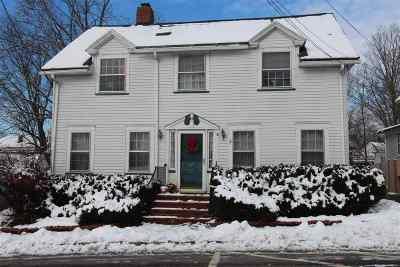 Nashua Single Family Home For Sale: 15 Mount Pleasant Street