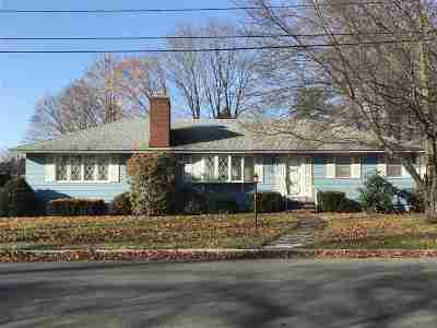 Manchester Single Family Home Active Under Contract: 748 Coolidge Avenue
