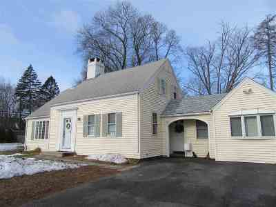 Dover Single Family Home Active Under Contract: 2-2a Woodland Road