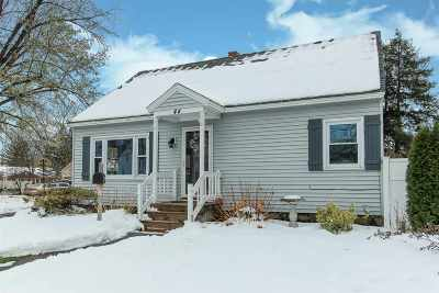 Manchester Single Family Home Active Under Contract: 44 Erie Street
