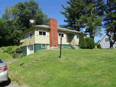 Richford Single Family Home For Sale: 22 Maple Street