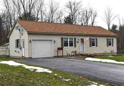 Rutland City VT Single Family Home For Sale: $172,500