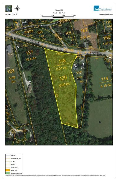 Weare Residential Lots & Land For Sale: Stark South Highway #120