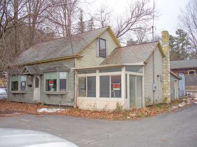 Rutland, Rutland City Commercial For Sale: 463 West Street