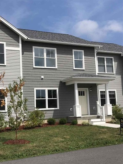 Chittenden County Condo/Townhouse For Sale: 140 Rye Circle