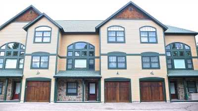 Waterville Valley Condo/Townhouse For Sale: 3 Brownstone Way #2