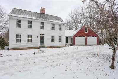 Merrimack County Single Family Home For Sale: 740 Broad Cove Road