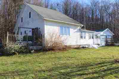 Orwell Single Family Home For Sale: 249 Route 22a