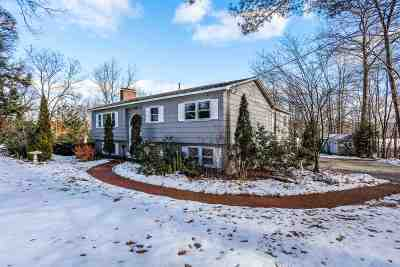 Hopkinton Single Family Home Active Under Contract: 210 Amesbury Road