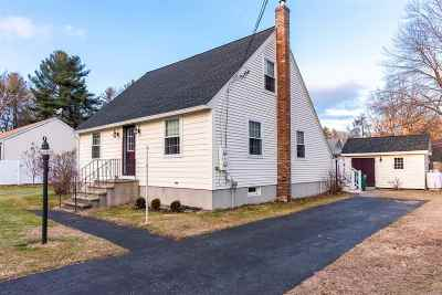 Merrimack Single Family Home For Sale: 3 Dolly Road